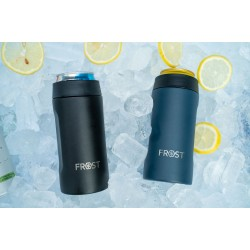 BEER CAN HOLDER SLIM 12oz FROST