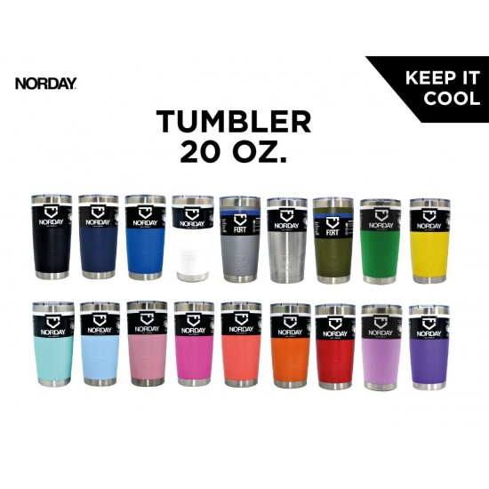TERMO ACERO INOXIDABLE 20oz NORDAY